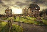 - 13世纪Stokesay城堡