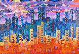 城市风光照片 - 城市之光