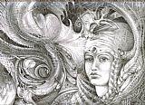 Fomorii国王和王后装饰画