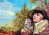 该Dauphin和尼摩船长探索Bogomils岛装饰画