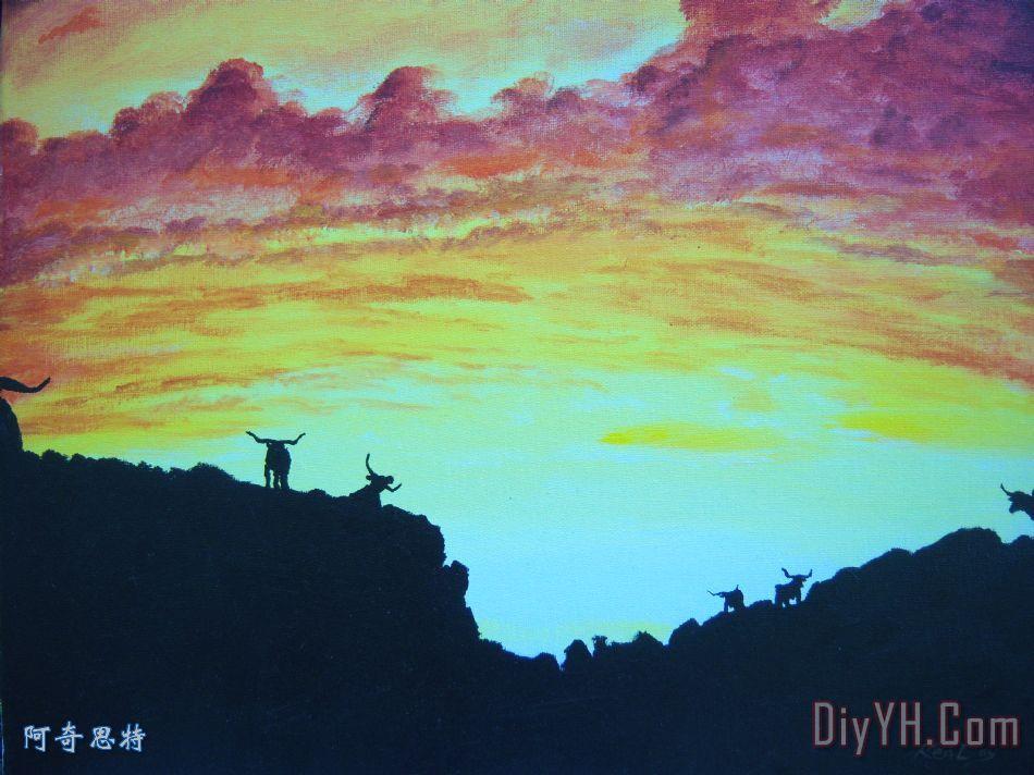 晋城那里有油画 - 阿奇思特画艺