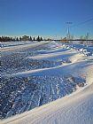雪沙丘装饰画