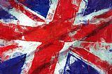 英国国旗装饰画