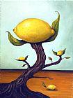 柠檬树装饰画