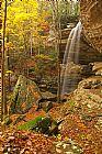 瀑布 - 昂林瀑布肯塔基州伯里亚
