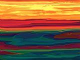 日落在渥太华山谷装饰画