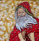 圣诞老人装饰画