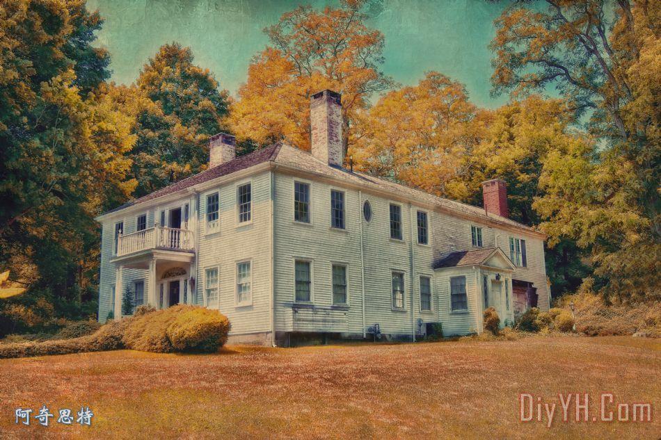 老式房子科德角图片