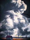 晚上积云在Leuty装饰画