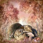 兔子梦装饰画