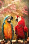 动物鹦鹉我们永远拥有鹦鹉装饰画
