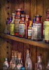 药剂师 - 里面的药品柜装饰画