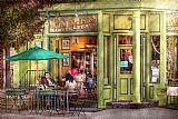 咖啡馆新泽西州霍博肯帝国咖啡和茶装饰画