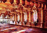 城市拉斯维加斯神剑在人民大会堂装饰画