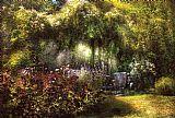 - 夏季景观夏娃的花园