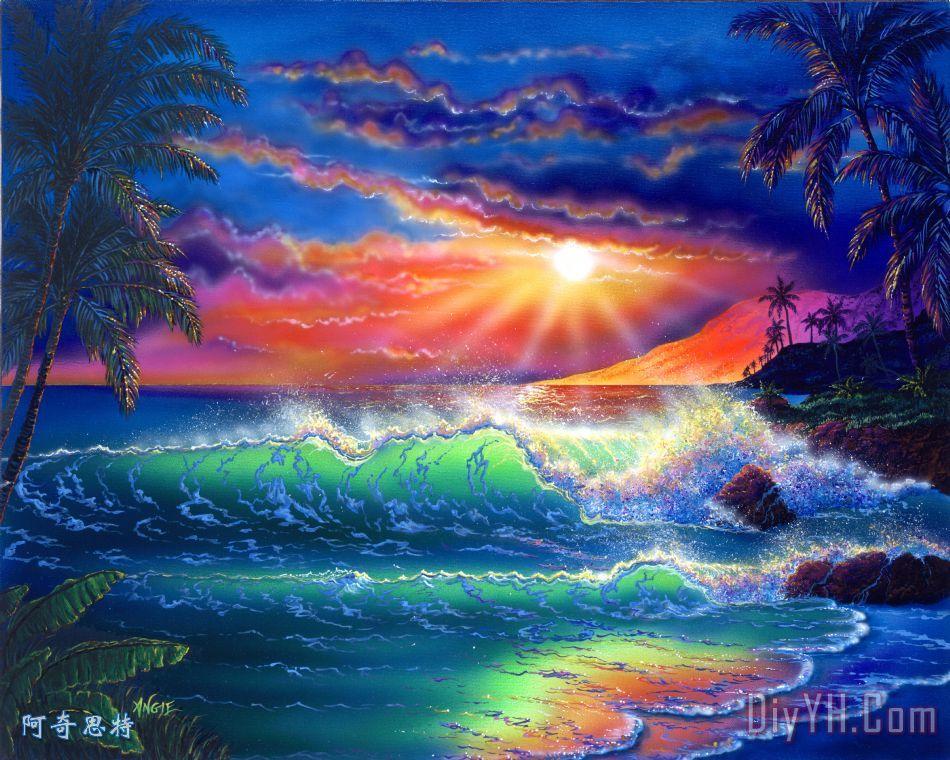 天堂岛 - 天堂岛装饰画