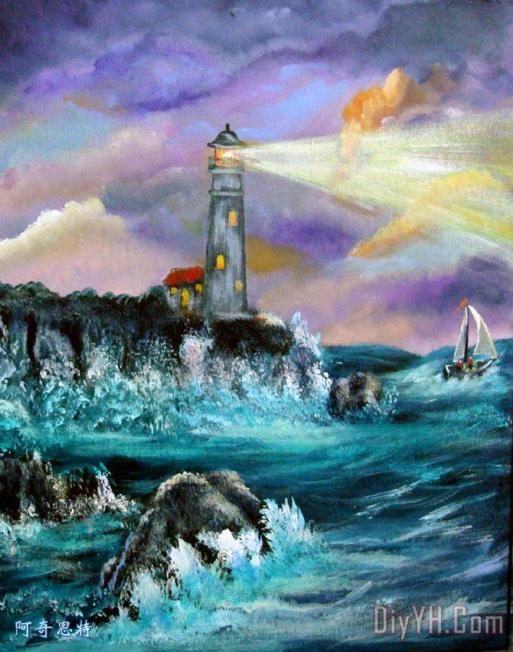 人生的风暴 - 人生的风暴装饰画