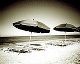 一天在沙滩上二极装饰画