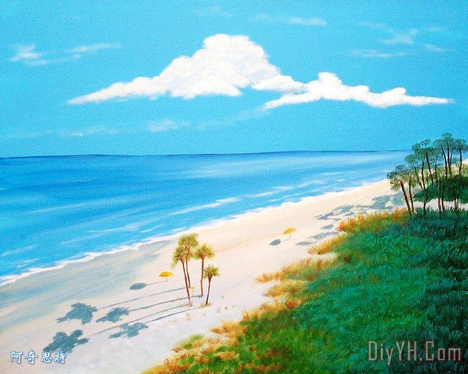 南卡罗来纳州海滩 - 南卡罗来纳州海滩装饰画