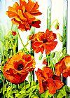春季罂粟花装饰画