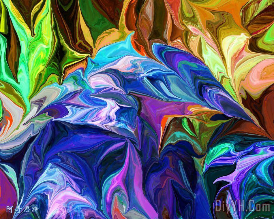 外星植物丛林 - 外星植物丛林装饰画
