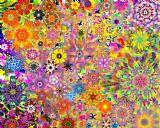 分形碎花研究3装饰画
