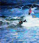 由冲浪扔装饰画