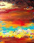 生活多姿多彩抽象装饰画