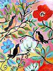 花园, 3只小鸟装饰画