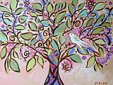 树绘画 - 摇篮曲树装饰画