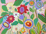老式花园装饰画
