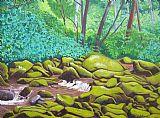 绿岩装饰画
