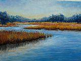 佛罗里达州的沼泽装饰画