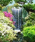 瀑布 - 春天的瀑布
