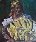 香蕉装饰画