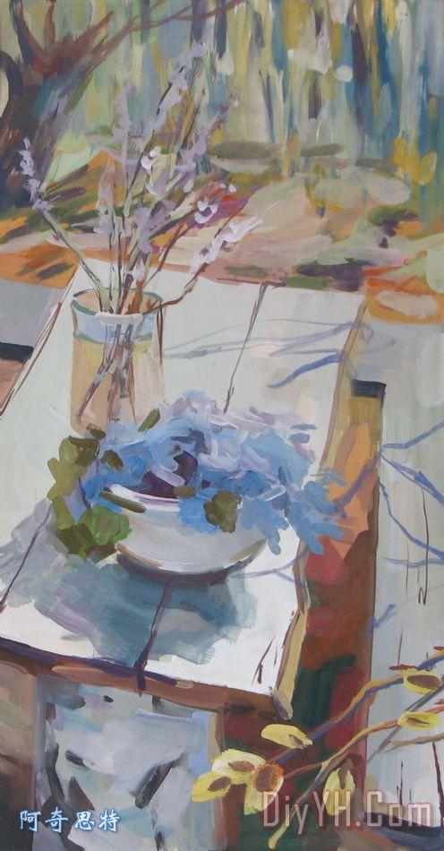 关键字:春天 静物 花朵 水粉画  相关分类:风景花卉美克美家欧式