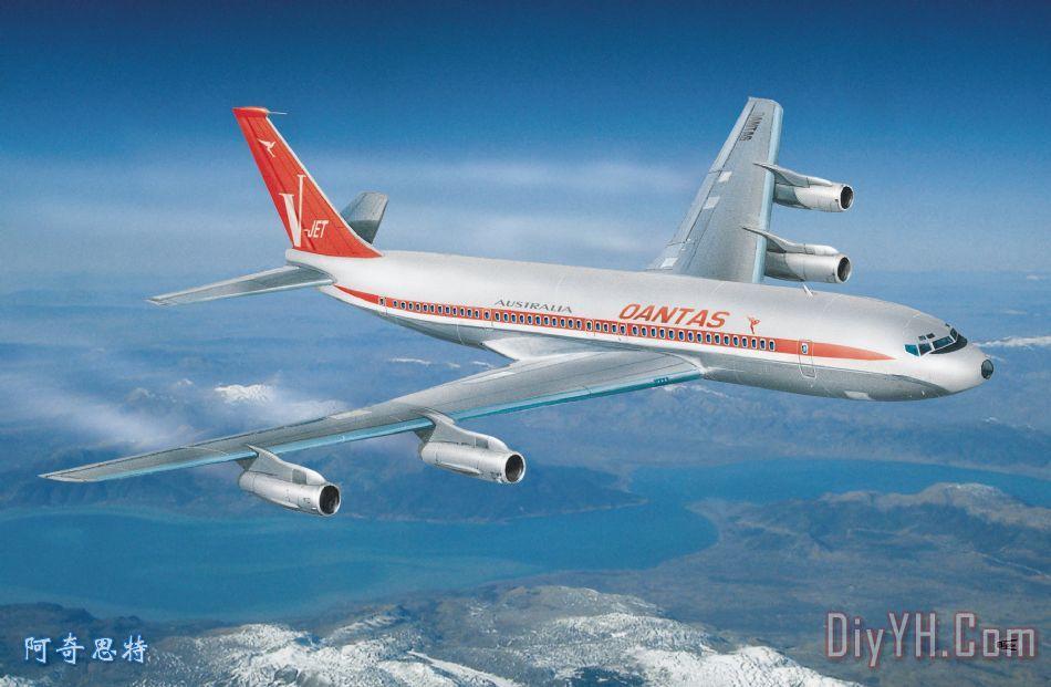 波音707 - 波音707装饰画