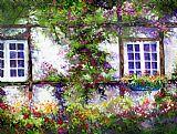英式花园别墅装饰画