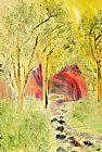 林地步道装饰画