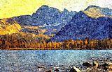 沃伦湖Pintler荒野装饰画