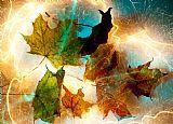 秋天壮观装饰画