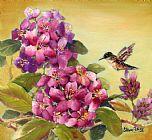 蜂鸟与杜鹃装饰画