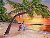 - 热带日落