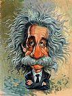 阿尔伯特·爱因斯坦写实装饰画