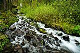 瀑布 - 春天瀑布