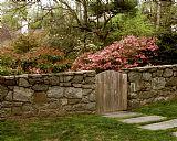 花园门装饰画