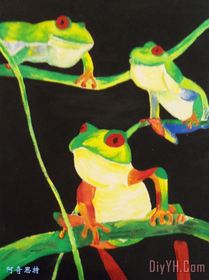 树蛙- 树蛙装饰画