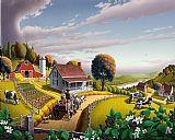 城市风光照片 - 国家农场民间艺术阿巴拉契亚黑莓补丁质朴的乡村美洲美国风光景观