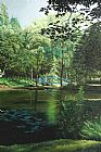 Carey的池塘装饰画