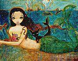 小美人鱼装饰画